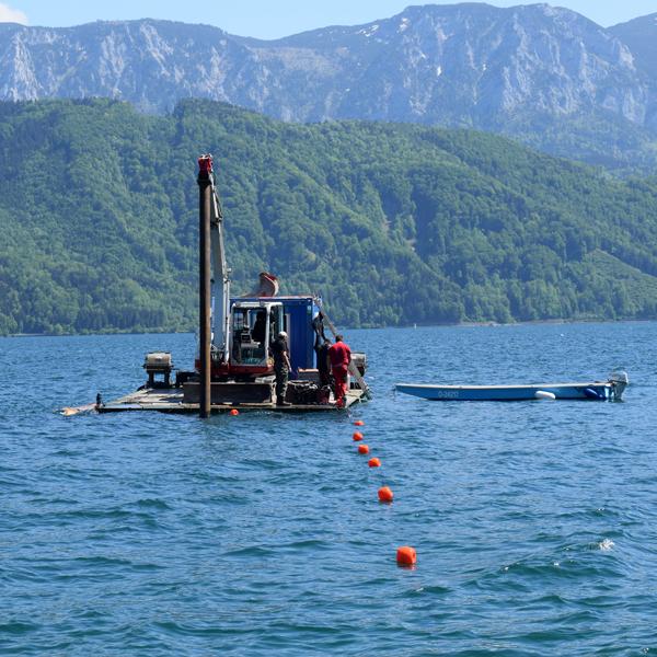 Seearbeiten / Arbeiten am Wasser mit Firma Viehauser